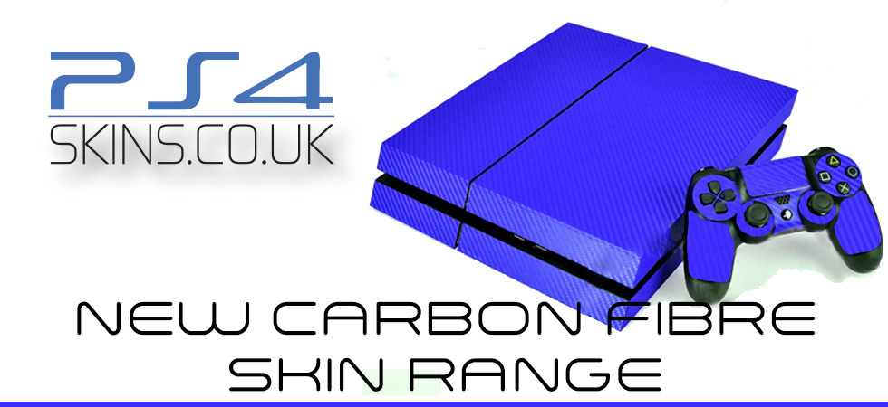 PS4 Carbon fibre Skin