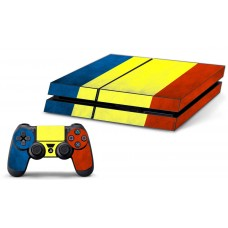 PS4 Skin - Romanian Flag