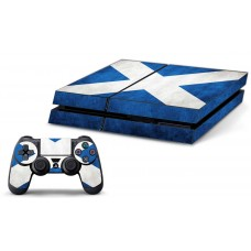 PS4 Skin - Scotish Flag