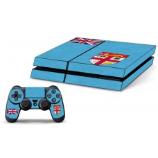 PS4 Skin - Fiji Flag