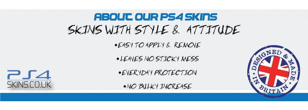 about ps4 skins